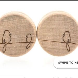 00 wooden plugs 2 pack